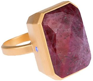 Ringly Wine Bar Pink Sapphire Bluetooth Smart Ring