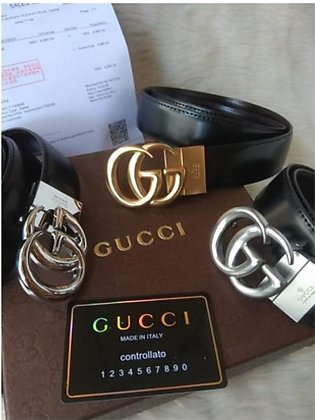 Gucci High Quality Leather Belts For Men (0669)