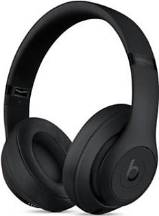 Beats Studio3 Wireless Bluetooth Over-Ear Headphones Matte Black