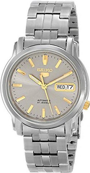 Seiko 5 Men's Watch Silver (SNKK67)