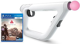 Sony PSVR Aim Controller Farpoint Bundle for PlayStation 4