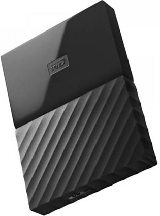 WD My Passport 4TB Portable External Hard Drive Black (WDBYFT0040BBK)