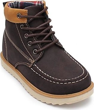 Servis TOZ Casual Boots For Boys Brown (TO-BT-0012)