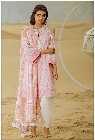 Al Karam Spring Summer Collection 2020 2 Piece (SS-25.1-20-Pink)
