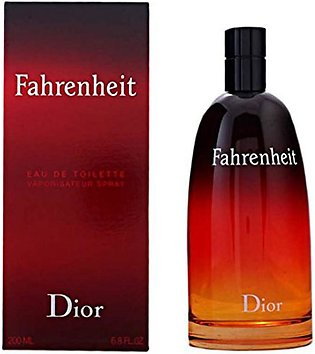 Christian Dior Fahrenheit Eau De Toilette For Men 200ml