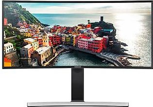 "Samsung 34"" WQHD Curved Screen LED Monitor (LS34E790CNS/ZA)"