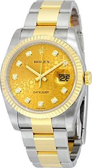 Rolex Datejust Men's Watch Yellow Gold (116233CJDO)