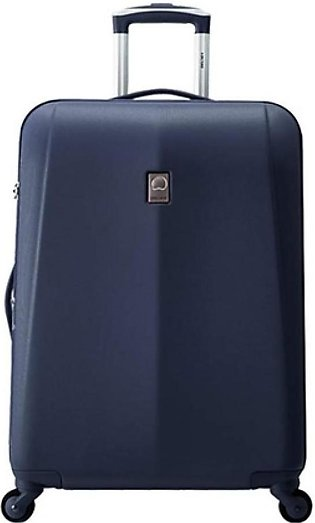 "Delsey Extendo 3 Hard 67Cm Blue Check-In Trolley Luggage 2 Set Bundle (24"" an..."