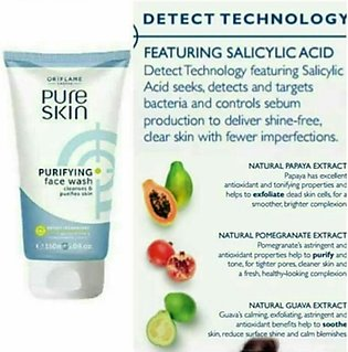 Oriflame Pure Skin Purifying Face Wash (32646)