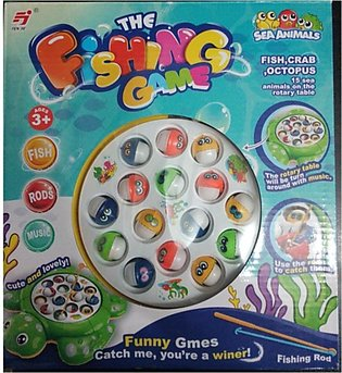 M Toys Kids Fishing Game - Multicolor (0299)