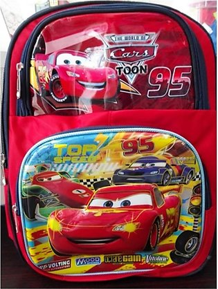M Toys Cars Character School Bag For Kids