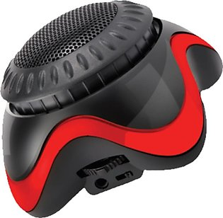 Audionic Atom Wireless Bluetooth Speaker Red