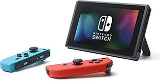 Nintendo Switch with Neon Blue & Neon Red Joy-Con