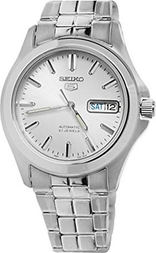 Seiko 5 Men's Watch Silver (SNKK87)
