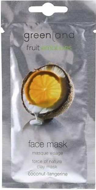 Greenland Bodycare Fruit Emotions Face Mask Coconut Tangerine 10ml