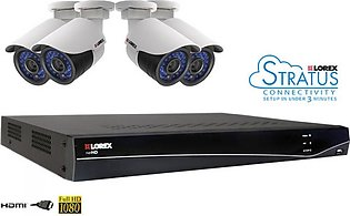 Lorex 8 Channel 2TB Network Video Recorder With 4 HD IP Cameras