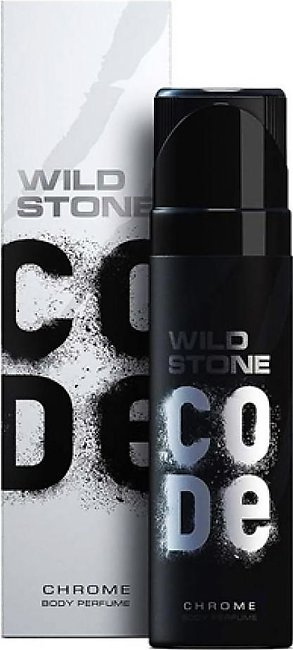 Kureshi Collections Wild Stone Code Chrome Body Spray For Men 120ml