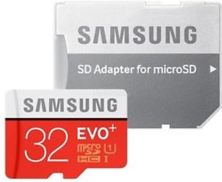 Samsung 32GB Memory Card with SD Adapter