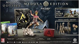 Assassin's Creed Odyssey Medusa Edition Game For PS4