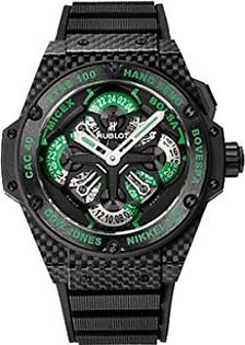 Hublot King Power GMT Chronograph Men's Watch Black (771.QX.1179.RX.CSH13)