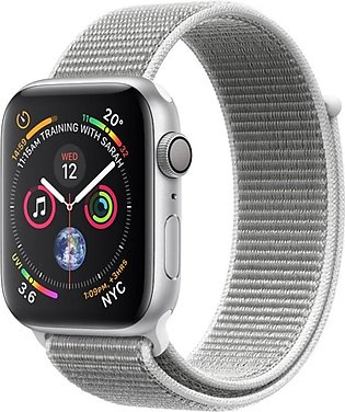 Apple iWatch Series 4 40mm Silver Aluminum Case With Seashell Sport Loop - GP...