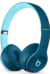 Beats Solo 3 Wireless Bluetooth On-Ear Headphones Pop Blue