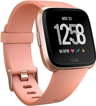 Fitbit Versa Smart Watch Peach