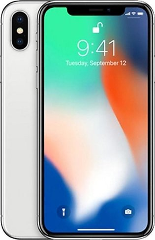 Apple iPhone X 64GB Single Sim Silver - Non PTA Compliant