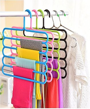 Mart Gillanees 5 Layer Pants Hanger - Blue