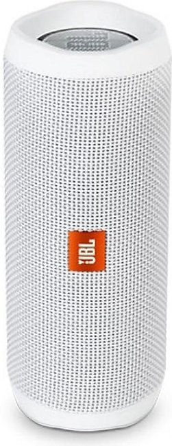 JBL Flip 4 Waterproof Portable Bluetooth Speaker White