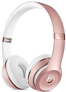 Beats Solo 3 Wireless Bluetooth On-Ear Headphones Rose Gold