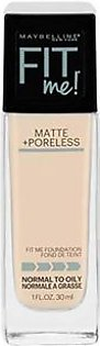 Maybelline Fit Me Matte + Poreless Foundation - 110 Procelain