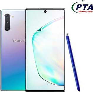 Samsung Galaxy Note 10 256GB 8GB Dual Sim Aura Glow - Official Warranty