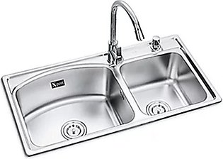 Xpert Double Bowl Sink (8143-201)