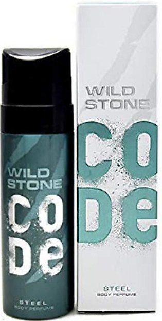 Kureshi Collections Wild Stone Steel Deodorants Spray For Men 120ml