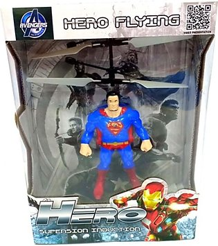 Quickshopping Superman Flying Helicopter Toy (1330)