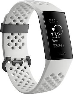 Fitbit Charge 3 Special Edition Fitness Tracker White Sport
