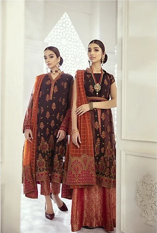 Iznik Imperial Dreams Chiffon Collection 3 Piece Exotic Roots (ID-10)