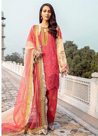 Charizma Spring/Summer Lawn Collection 2020 3 Piece (SS-09)