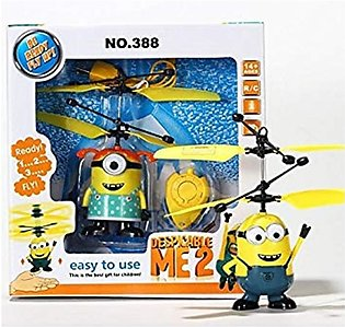 Hi Density Minion Flying Helicopter Toy