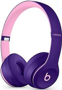 Beats Solo 3 Wireless Bluetooth On-Ear Headphones Pop Violet