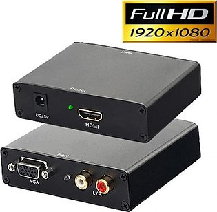 Attari HDMI To VGA Converter Black (0392)