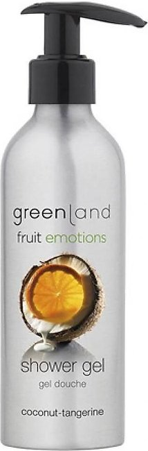 Greenland Bodycare Fruit Emotions Shower Gel Coconut Tangerine 200ml