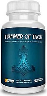 A1 Store Hammer Of Thor Sex Supplement Capsule For Men (0013)