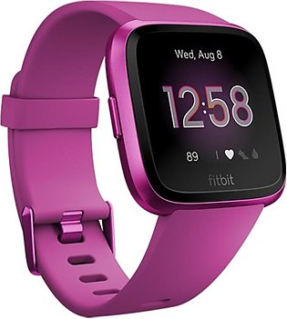 Fitbit Versa Lite Edition Smart Watch Mulberry