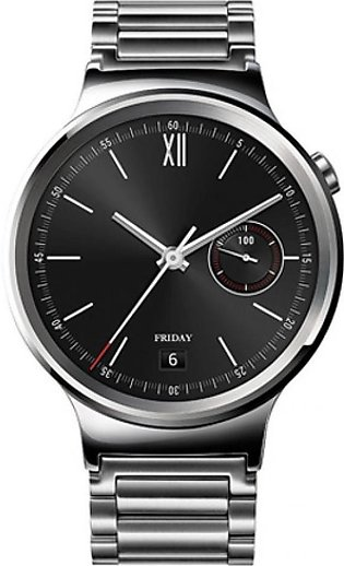 Huawei Smartwatch Stainless Steel with Stainless Steel Link Band