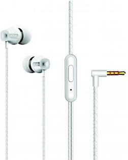 Ronin R-12 Pure Bass Sound In-Ear Earphones White