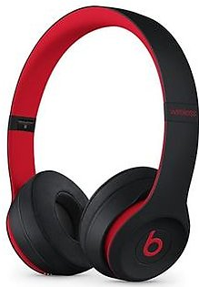 Beats Solo 3 Decade Wireless Bluetooth On-Ear Headphones Black-Red
