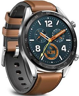 Huawei Watch GT Smartwatch Saddle Brown Leather Silicon