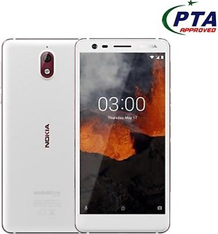Nokia 3.1 16GB Dual Sim White/Iron